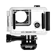 Side Open Protective Skeleton Waterproof Case for Gitup GIT2P 90 Degree FOV Camera