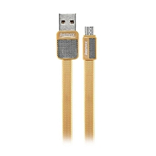 Remax RC044m Platinum Metal Data & Rapid Charge 2.1A Micro USB 1 Meter Cable for Samsung/Asus/HTC/Lenovo/Sony/Oppo/Xiaomi DIOKKC