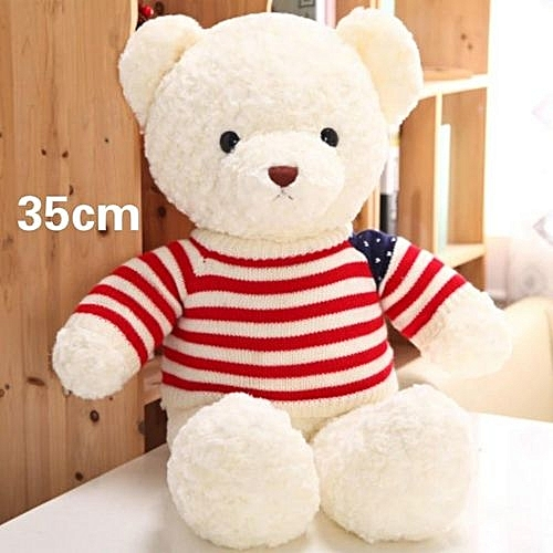 Georgeous Teddy 35cm Happy Birthday Or Girlfriend Gift Plush Bear ToyColor First Pic
