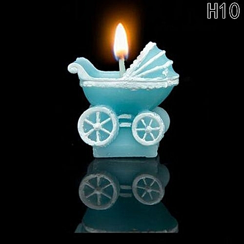 Hequeen 3D Cute Boy Girl Angel Candle Party Children Birthday Wedding Cake Decorating Candles