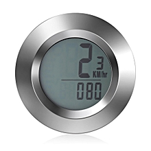 Wireless Backlight Bike Speedometer Odometer Calorie Tracker Bicycle Computer - Silver