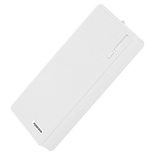 HP-18000MAH USB External Power Bank Battery Powered Charger For Smart Phones white