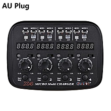 HTRC X4 Multi Charger AC/DC Input For 1S Lipo Lihv Battery AU Plug