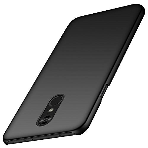 LG Stylo 4 Case,LG Q Stylus Case,LG Stylo 4 Plus Case, Ultra Thin  Anti-Fingerprint and Minimalist Hard PC Cover for LG Stylo 4 (2018) (Silky  Black)