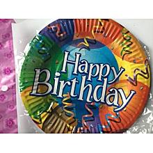 Small Birthday Plates