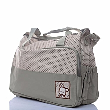 Stylish Diaper Bag with a Changing Mat - Multicolored