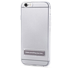 5.5 Inch Phone Cover Magnetic Stand For IPhone 6 Plus / 6S Plus (GRAY)