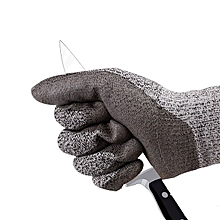 ZANLURE Cut Resistant Gloves Level 5 Protection Food Grade EN388 Certified Safety Gloves for Outdoor Fishing