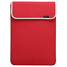 Bluelans Waterproof Laptop Sleeve Case Carry Bag Cover For 12.4 Notebook Red