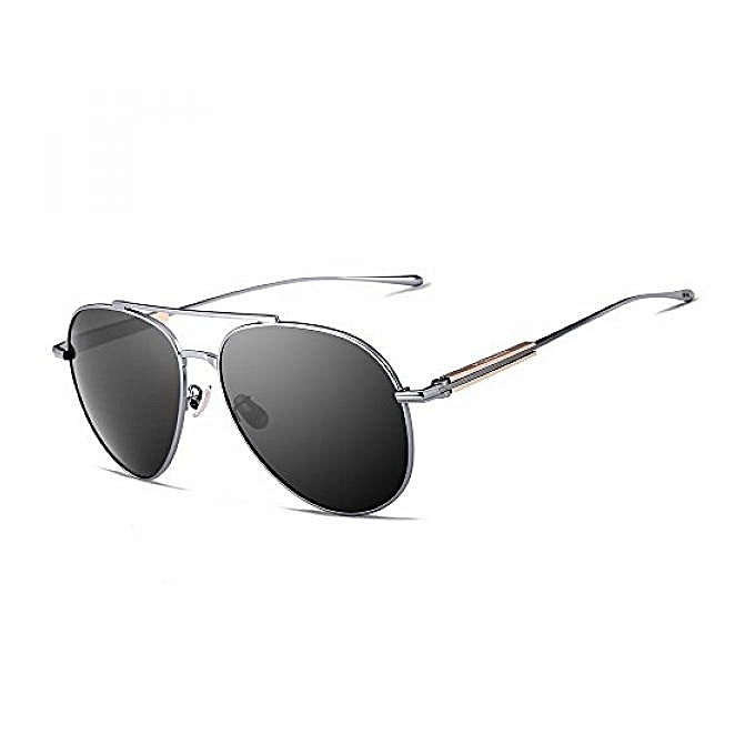 8efbad3e17 VEITHDIA 6696 Al-Mg Metal Frame Polarized Aviator Sunglasses 100% UV  Protection XYX-