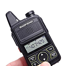 BaoFeng BF T1 Mini walkie talkie ultra thin micro driving 400-470MHz 20 channels