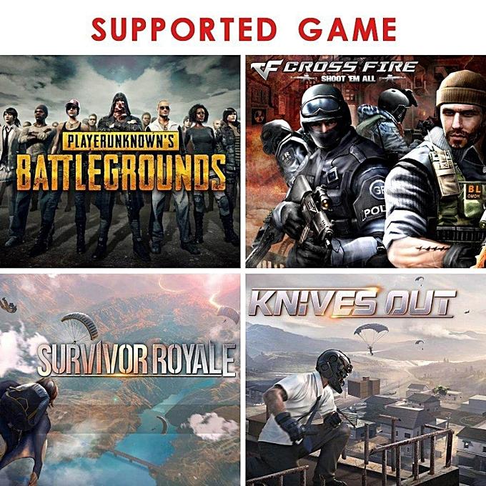 Generic HonTai 2 Pair Best PUBG game mini joystick shooting