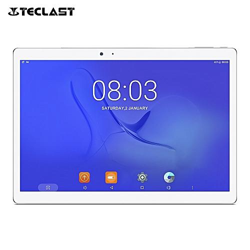 Teclast Master T10 10.1 inch Tablet PC Android 7.0 MTK8176 Hexa Core 1.7GHz 4GB RAM 64GB ROM Fingerprint Sensor Dual WiFi OTGSILVER EU PLUG