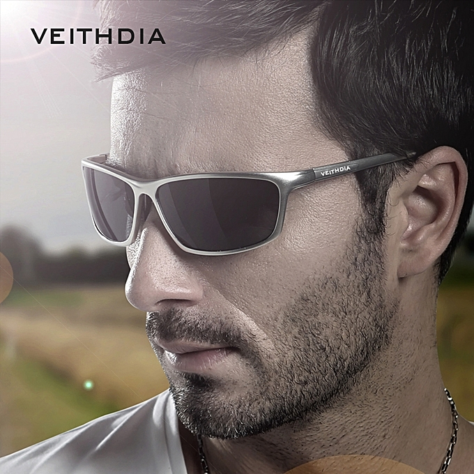237343102c6 VEITHDIA Brand Polarized Aluminum Magnesium Wrap Men s Sun glasses Male  Sport Outdoor Sunglasses Mirror Eyewear For