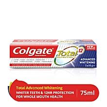 T/Paste Total Adv White75ml