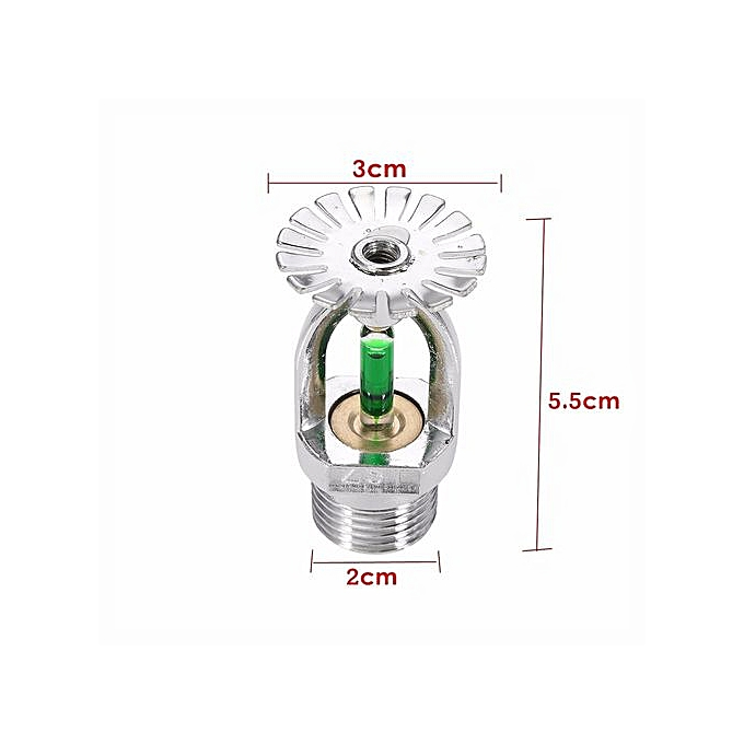93℃ Upright Pendent Fire Sprinkler Head For Fire Extinguishing System  Protection Down