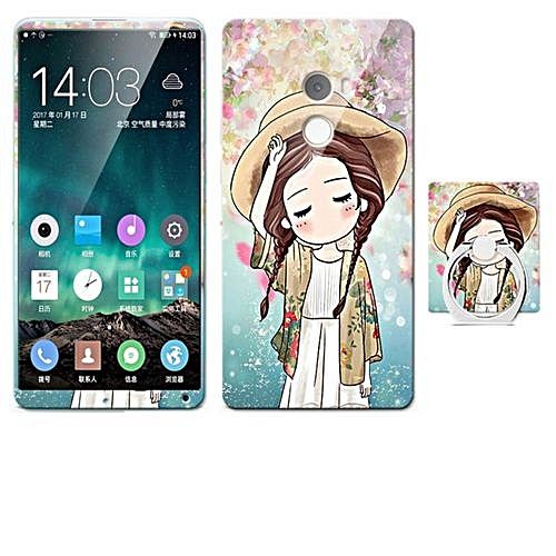 Luxury 3D Painting Front+Back Full Case Cover Color Tempered Glass Case For Xiaomi Mi
