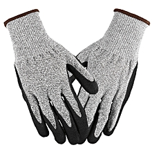 Working Gloves Abrasion Resistant Anti Cutting Piercing Safety Gloves for Gardening Farming Motorcycle Riding