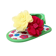 Baby Flower Sandals Toddler Princess First Walkers Girls Kid Shoes GN/11