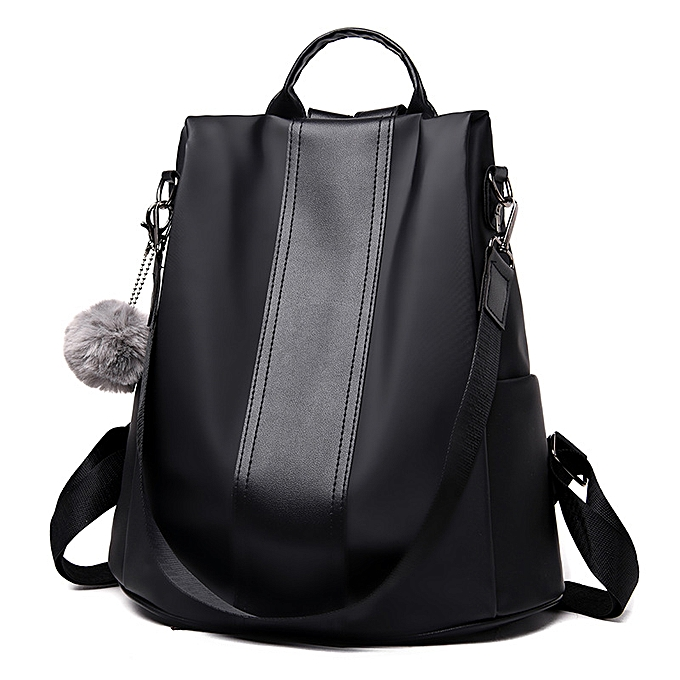 bc5c9bb8282 Waterproof Casual Women Backpack Purse Anti-theft Rucksack Mochila Feminina  Lightweight School Shoulder Bag for Teenagers Girls(Black)