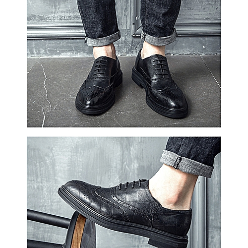 71269ae5ad Generic Fashion Simple Leisure Tip Leather Shoes Business Suit Shoes  British Men s Shoes 3022-B