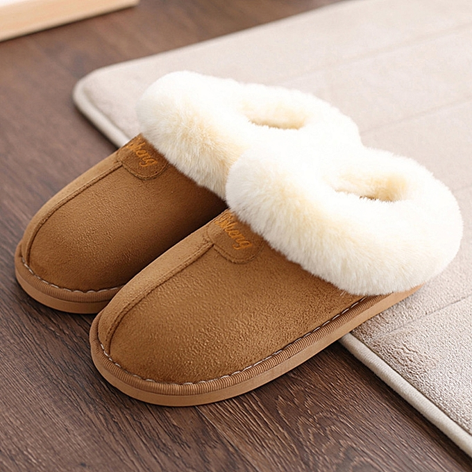 f21852695dfb Home slippers women plush Slipppers Australia UG style female house Indoor  man Bathroom slippers solid Adult