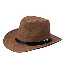 Summer Men Straw Hat Cowboy Hat DC