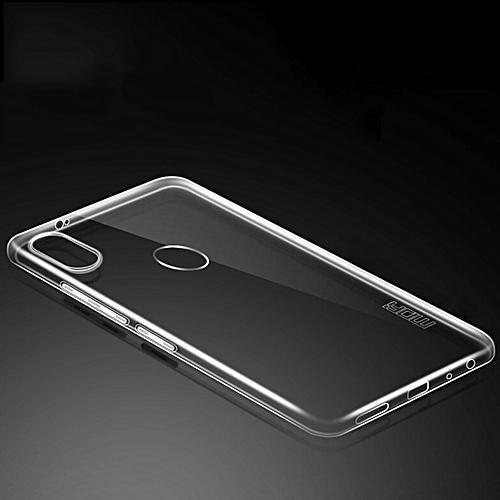 big sale 70b7a 8b8e6 MOFI for Xiaomi Redmi Note 5 Pro TPU Soft Protective Back Cover Case  (Transparent)