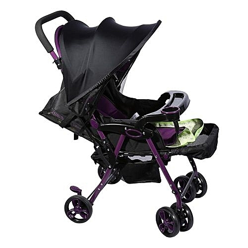 Baby Stroller Cover Infant Car Seat Sun Shade Buggy Hood Blocking Canopy Black