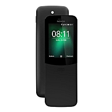 Nokia 8110 4G Feature Phone 2.45 inch Smart Feature OS MSM8905 Dual Core 1.1GHz 512MB RAM 4GB ROM 2.0MP Rear Camera BT 4.1 1500mAh Built-in - BLACK