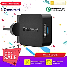 [Qualcomm Certifed] Tronsmart WC1T Compatible Quick Charge 3.0 & Huawei FCP 1 Port UK Wall USB Quick Charge Charger QTG-W