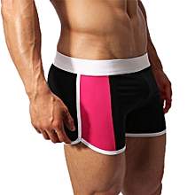 hiamok Sexy Men Underwear High Quality Boxer Shorts Sport Swimwear