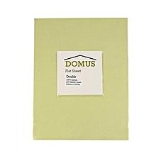 Flat Sheet - Double - 200cm x 240cm - 250T Cotton - Stone