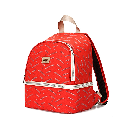 d45c2136259d Insulated Breastmilk Cooler Bag Breast Pump Backpack Waterproof Double  Layer Bottle Lunch Tote Bag For Breastfeeding Mom Work Panic Travel Red