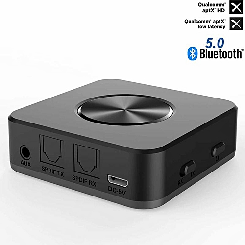 Bluetooth 5 0 Transmitter Receiver 2 in 1 Wireless APTX HD Low Latency A2DP  Music Optical SPDIF Aux RCA 3 5mm Stereo Audio Adapt
