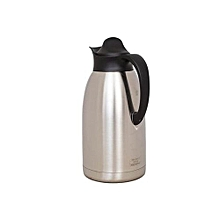 Thermos Flask - 2.0 LT - Stainless Steel -Coffee Pot-Silver
