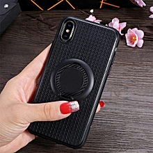 3 in 1 Magnetic Ring Case for iPhone XS / X, with Holder (Black)