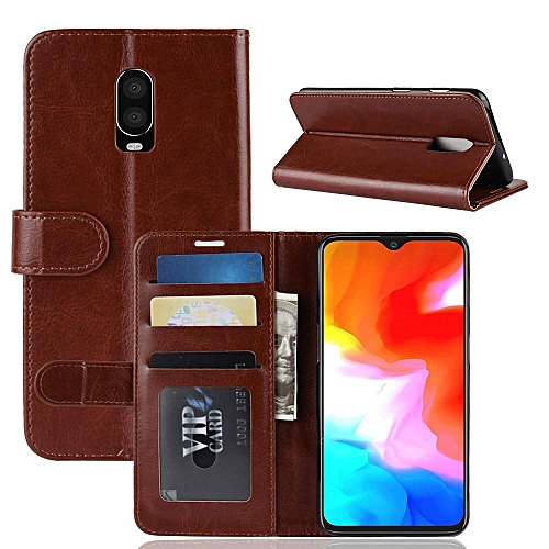 quality design 1238b 5931e PU Leather Wallet Case Cover for OnePlus 6T