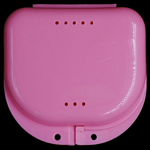 Denture Bath Box Case Dental False Teeth Appliance Container Storage Boxes  Dentu