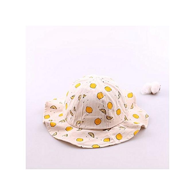 67043d6e980 Hiaojbk Store Cute Infant Kids Fruit Print Pattern Bucket Hats Sun Helme  Bucket Cap Sunhat-