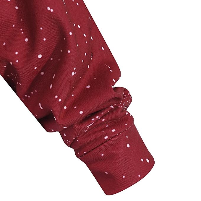 1031059e845e3 ... Fashion Leadsmart Plus Size Christmas Evening Printed Skew Neck  Sweatshirt