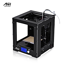 Anet A3-S Assembled Desktop 3D Printer Aluminum Plastic Frame High Precision Complete Machine 150 * 150 * 150mm Building Size Supports Offline Printing(with a 16GB TF Card)