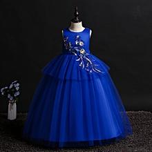 ADO Stap High Low Printed Flower Girl Dresses for Kids Girls