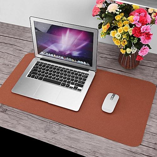471da4cf5fbe 68x33cm Felts Table Mouse Pad Office Desk Laptop Mat Anti-static Computer  PC Pads (Brown)