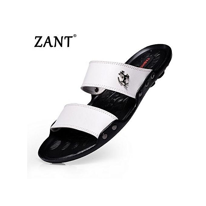 5117f3c8e4057 Luxury Brand Men s Flip Flops Fashion Slippers Summer Beach Sandals Shoes  For Men Flip-flops