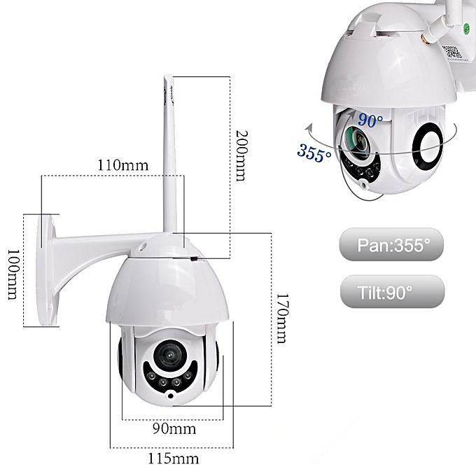2 5inch 1080P MINI Wireless WIFI PTZ Speed Dome IP Camera Security Cameras  ICsee