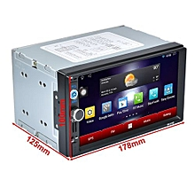 OR 7 Inch HD 1080P 1024*600 Capacitive Screen Function Car DVD MP3 Player-Black