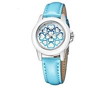Engraved Flower Design Watch