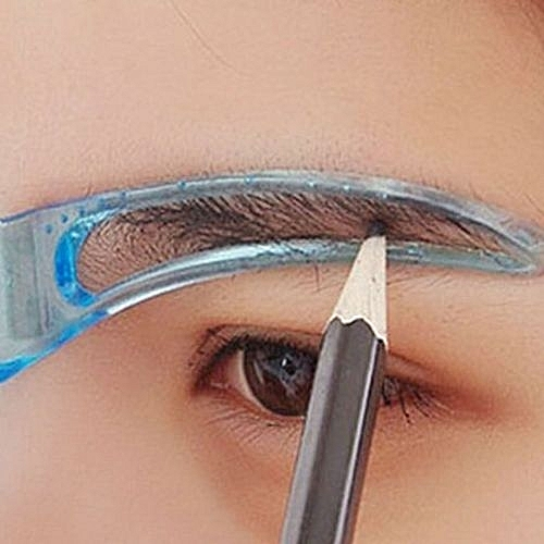 Buy Fashion Fashion Eyebrow Template Stencil Grooming Shaping Helper