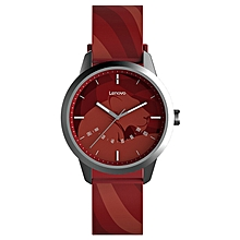 Lenovo Watch 9 Constellation Version 1.57-inch Round Screen 5ATM Waterproof Bluetooth 5.0 Smart Watch Support Sleep Monitor Phone Calls Reminding For Android IOS - Crimson
